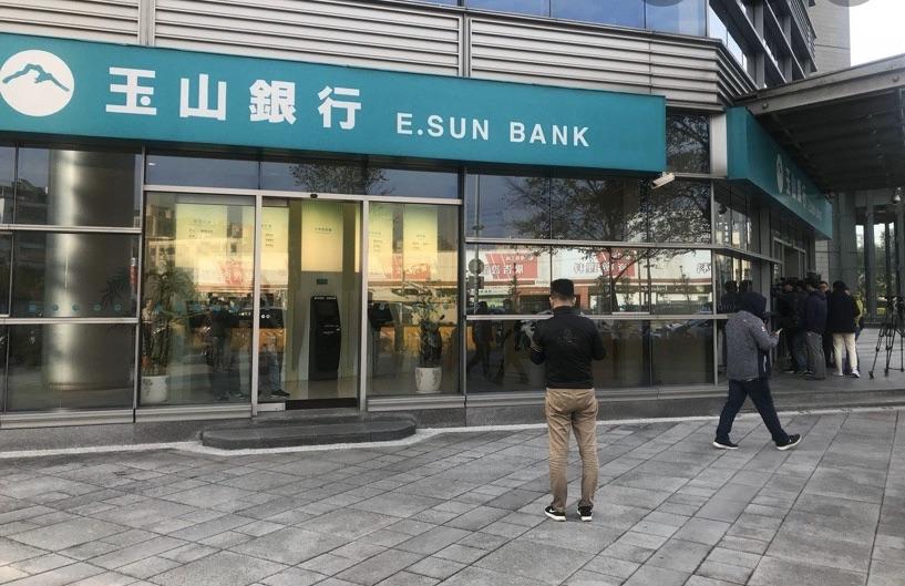 三月份接連發生兩件銀行搶案