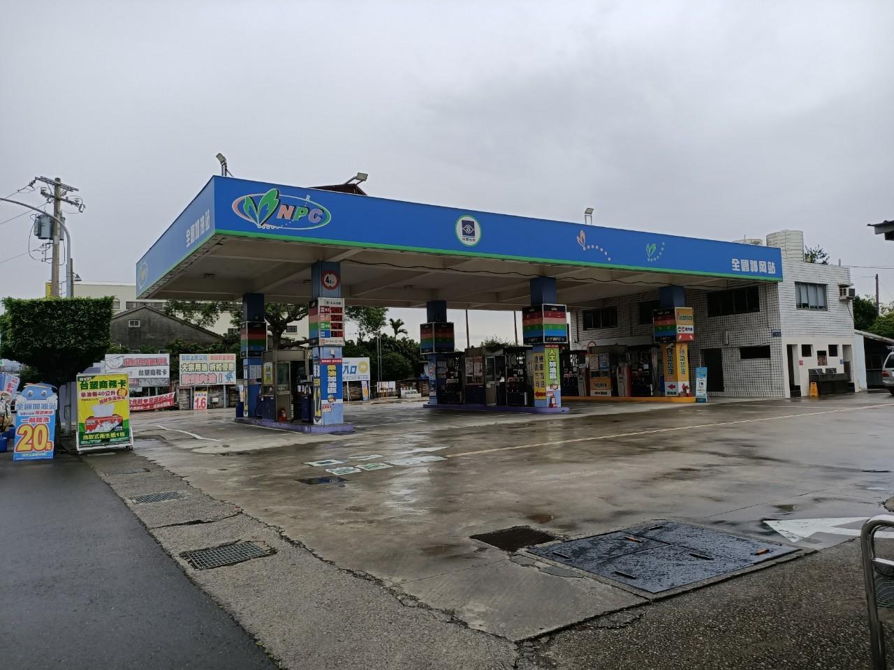 全國加油站神岡站警民連線系統裝機工程