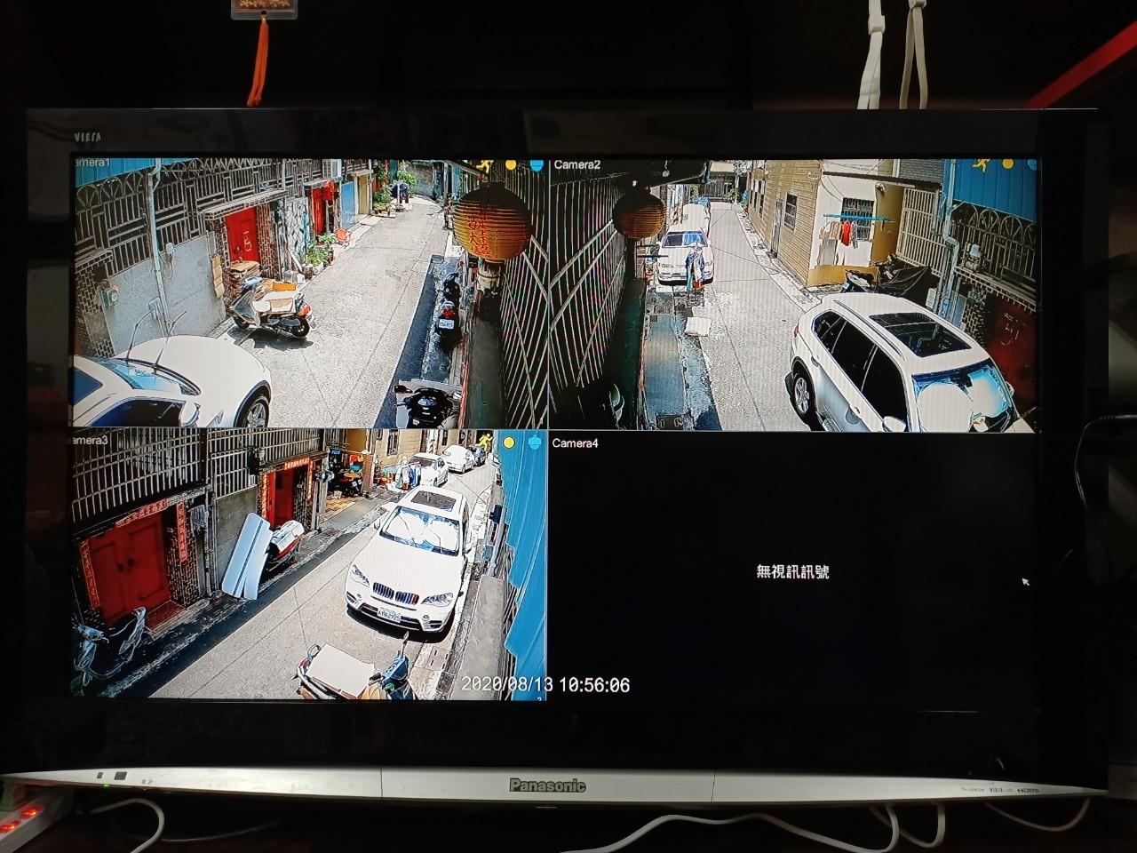 西屯區林公館監視系統安裝