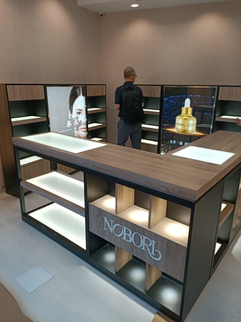 諾婕蒂(NOBORI)一中店監視系統開通上線