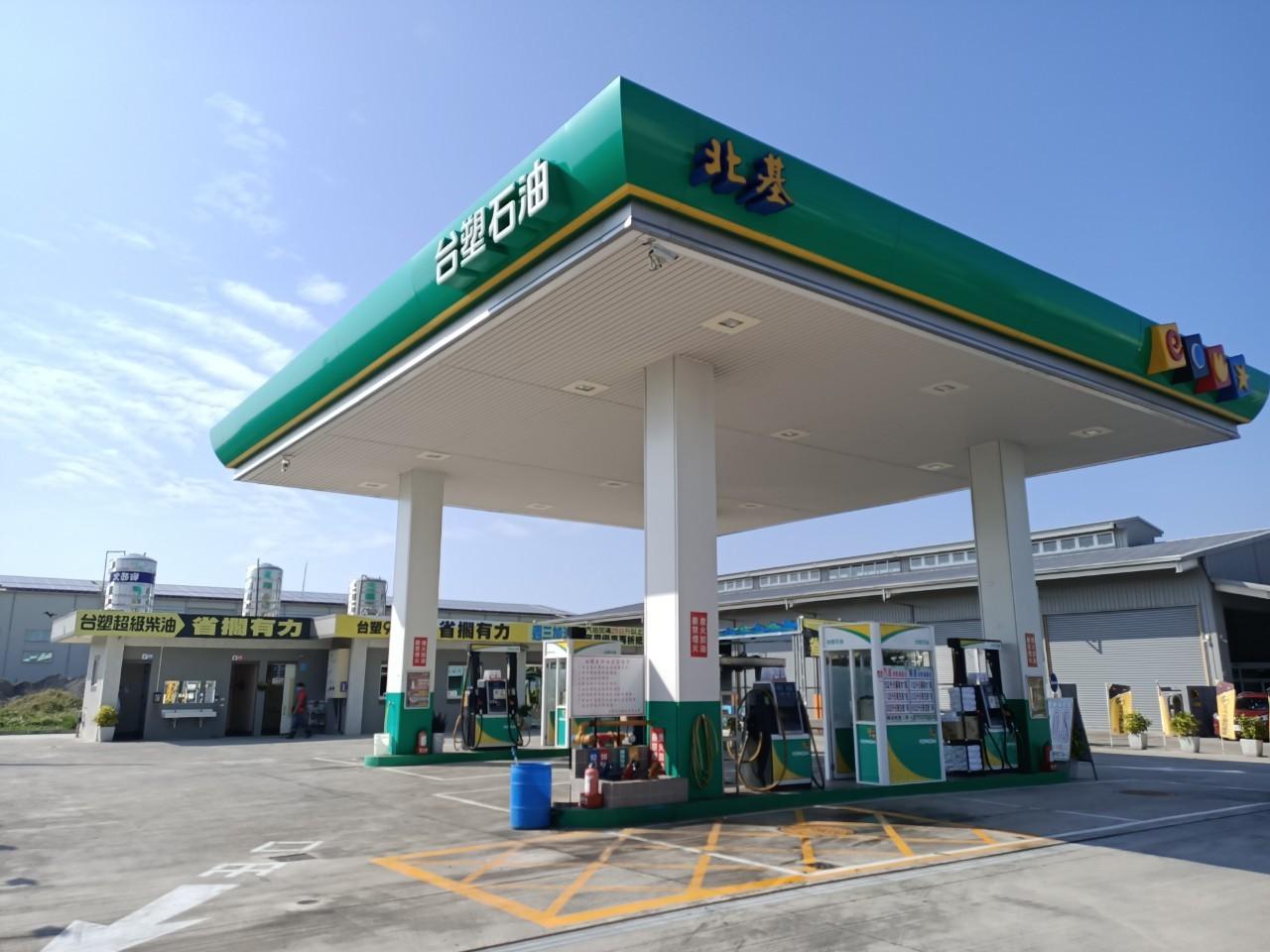中華盛竹加油站 安裝警民連線系統開通