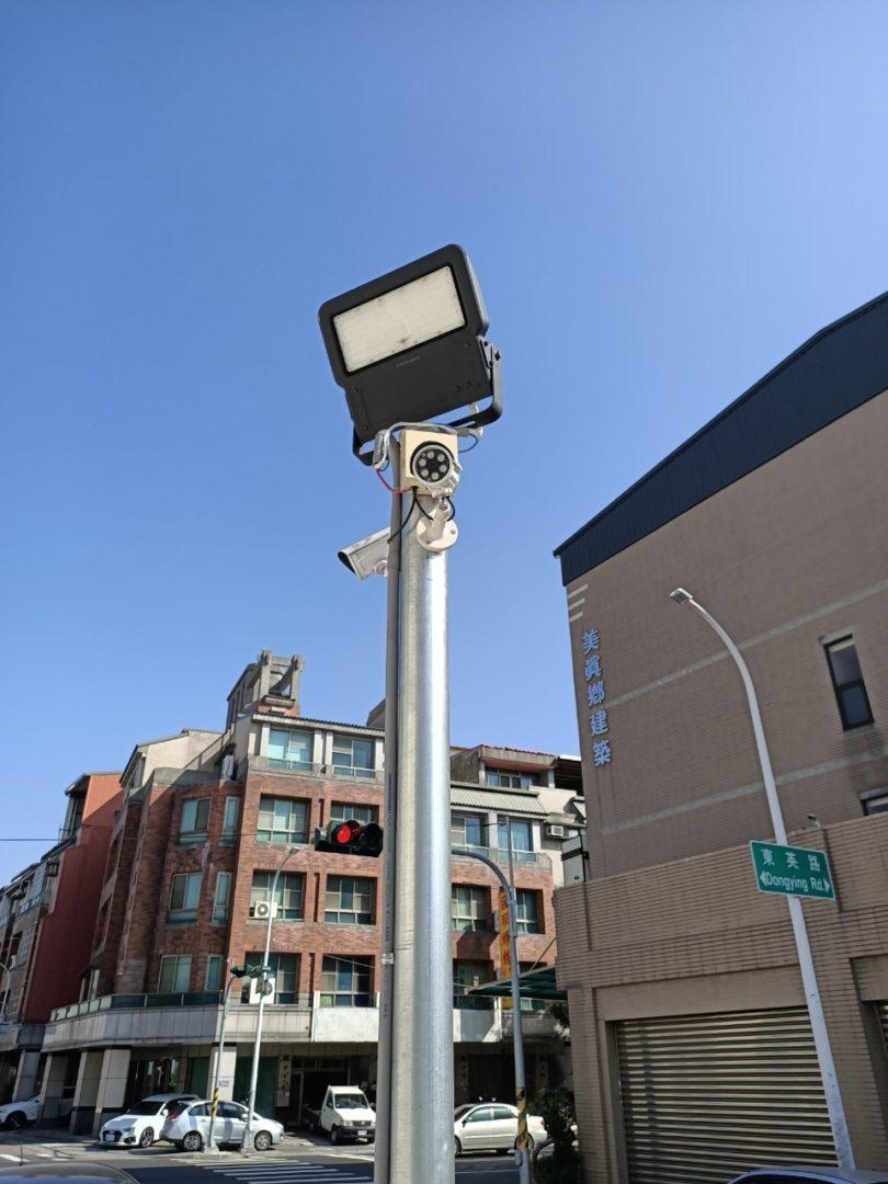 東英路停車場監視系統施工