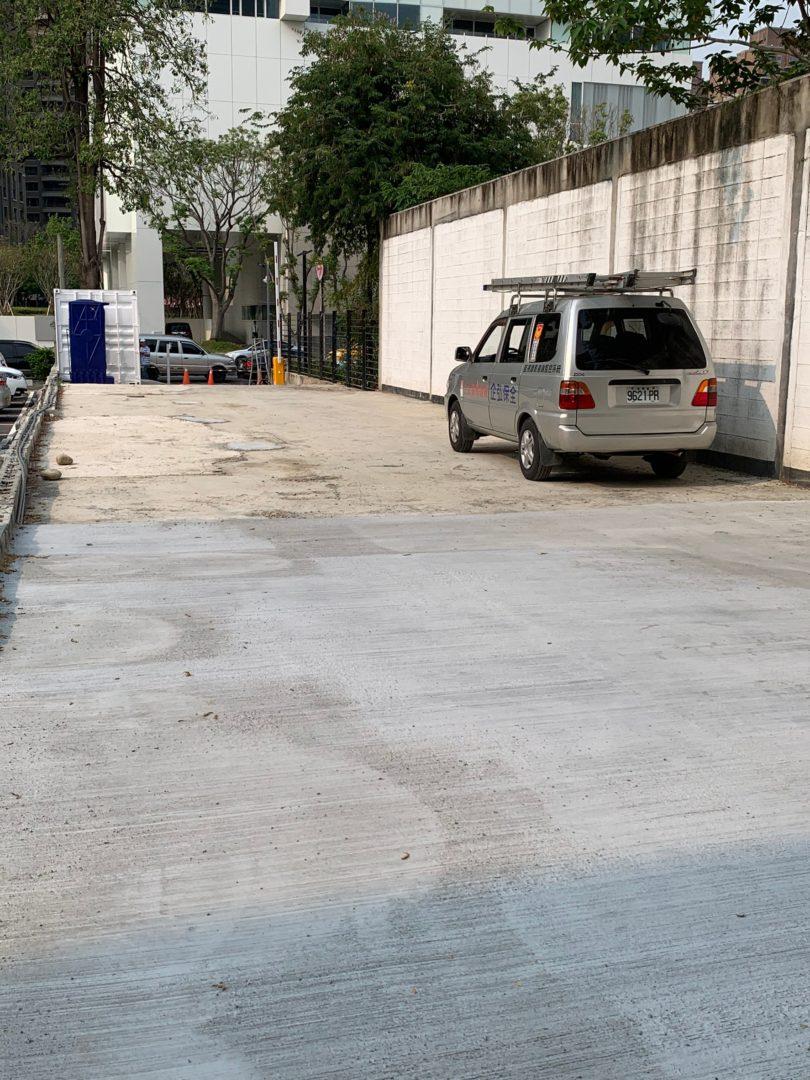 車P文心一路停車場監視系統施工