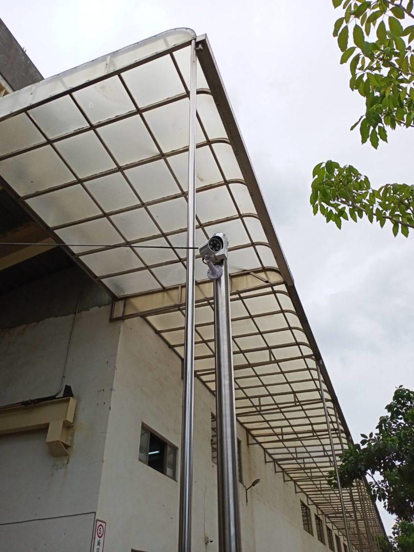 **金屬(股)公司倉庫監視系統施工