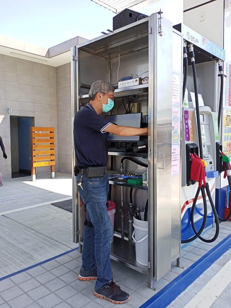 北基新市加油站安裝警民連線系統 210728 0
